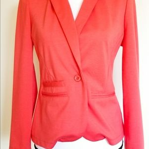 Tommy Girl Blazer puckered hem Pink Size Small